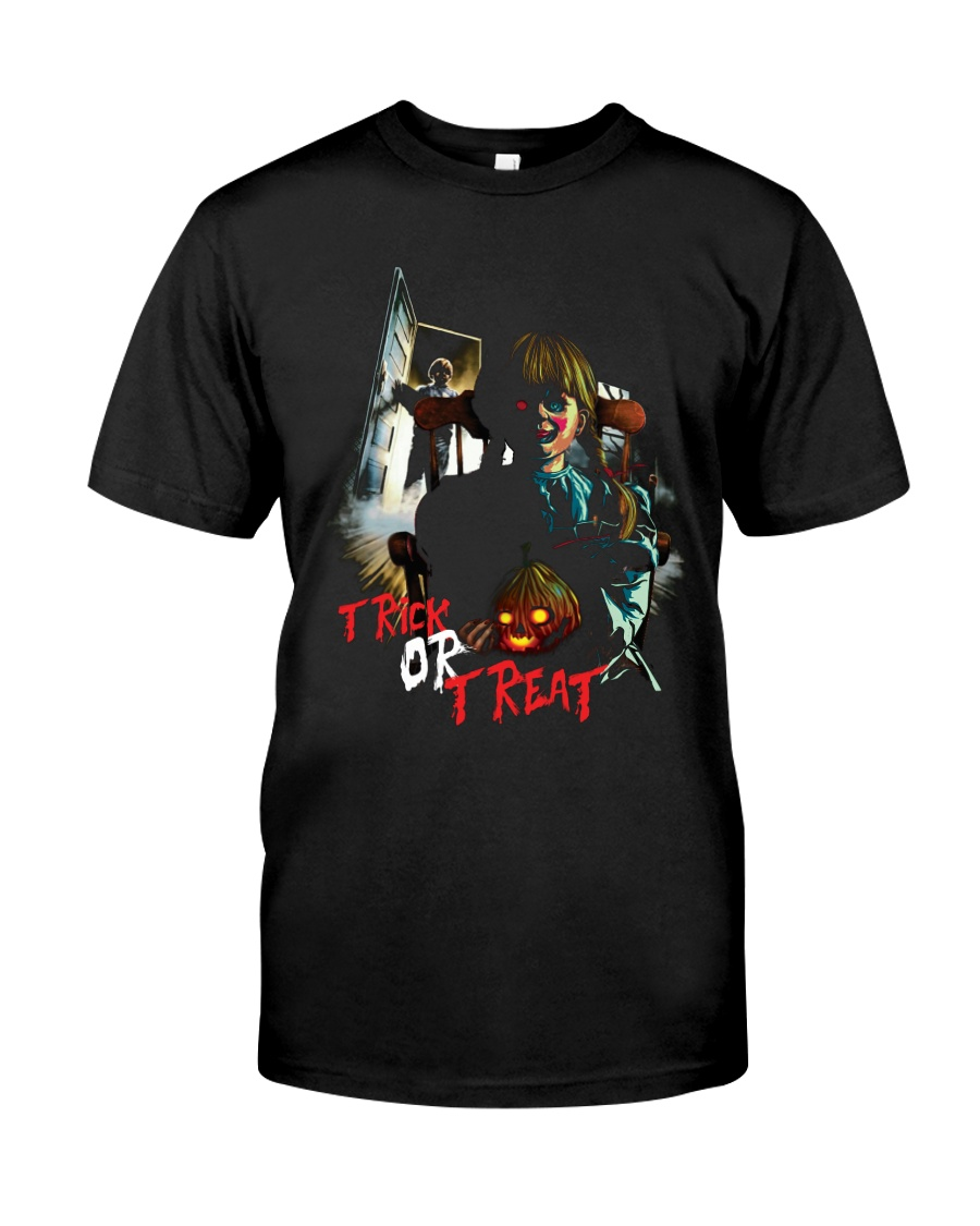 Halloween Annabelle Trick or Treat Classic T-Shirt