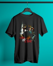 Halloween Annabelle Trick or Treat Premium Fit Mens Tee lifestyle-mens-crewneck-front-3