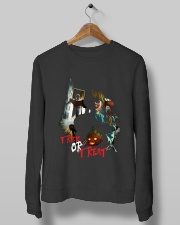 Halloween Annabelle Trick or Treat Crewneck Sweatshirt lifestyle-unisex-sweatshirt-front-10