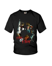 Halloween Annabelle Trick or Treat Youth T-Shirt front