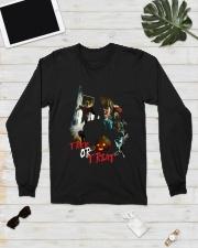 Halloween Annabelle Trick or Treat Long Sleeve Tee lifestyle-unisex-longsleeve-front-6