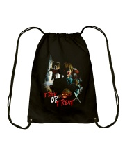 Halloween Annabelle Trick or Treat Drawstring Bag tile