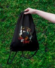 Halloween Annabelle Trick or Treat Drawstring Bag lifestyle-drawstringbag-front-3