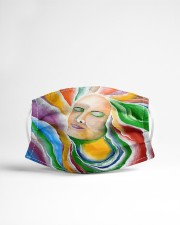 The Chakras Cloth face mask aos-face-mask-lifestyle-22