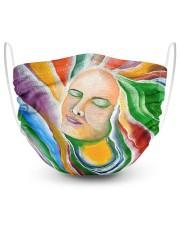 The Chakras 2 Layer Face Mask - Single thumbnail