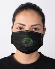Colorful Hole Mask Cloth face mask aos-face-mask-lifestyle-01