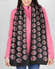 TheOrchidScarf Fleece Scarf aos-fleece-70-x-10-scarf-lifestyle-11
