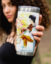 The Guitarist on Tumbler 20oz Tumbler aos-20oz-tumbler-lifestyle-front-93