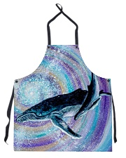 The Whale Swirl Apron front