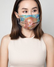 Peaceful Girl 3 Layers Mask 3 Layer Face Mask - Single aos-face-mask-3-layers-lifestyle-front-01