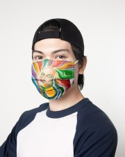 The Chakras 3 Layers Mask 3 Layer Face Mask - Single aos-face-mask-3-layers-lifestyle-front-07
