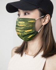 Green Light 3 Layers Mask 3 Layer Face Mask - Single aos-face-mask-3-layers-lifestyle-front-06