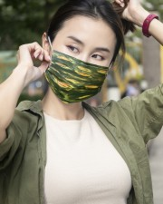 Green Light 3 Layers Mask 3 Layer Face Mask - Single aos-face-mask-3-layers-lifestyle-front-10