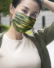 Green Light 3 Layers Mask 3 Layer Face Mask - Single aos-face-mask-3-layers-lifestyle-front-13