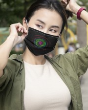 Colorful Hole 3 Layers Mask 3 Layer Face Mask - Single aos-face-mask-3-layers-lifestyle-front-10