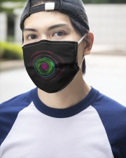 Colorful Hole 3 Layers Mask 3 Layer Face Mask - Single aos-face-mask-3-layers-lifestyle-front-14