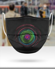 Colorful Hole 3 Layers Mask 3 Layer Face Mask - Single aos-face-mask-3-layers-lifestyle-front-46