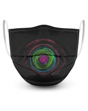 Colorful Hole 3 Layers Mask 3 Layer Face Mask - Single front