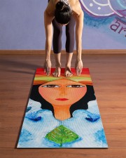 Peace Land Yoga Mat 24x70 (vertical) aos-yoga-mat-lifestyle-25
