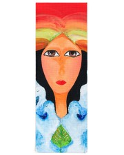 Peace Land Yoga Mat 24x70 (vertical) front