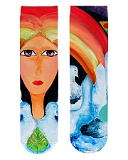 Peace Land Crew Length Socks thumbnail
