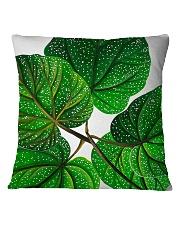 Green Plant Square Pillowcase tile