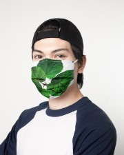 Green Plant 3 Layers Mask 3 Layer Face Mask - Single aos-face-mask-3-layers-lifestyle-front-07