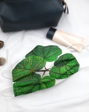 Green Plant 3 Layers Mask 3 Layer Face Mask - Single aos-face-mask-3-layers-lifestyle-front-21