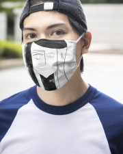 Self Explore 3 Layers Mask 3 Layer Face Mask - Single aos-face-mask-3-layers-lifestyle-front-14