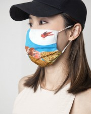 Little Me 3 Layers Mask 3 Layer Face Mask - Single aos-face-mask-3-layers-lifestyle-front-06
