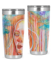Peaceful Girl 20oz Tumbler thumbnail