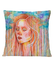 Peaceful Girl Square Pillowcase thumbnail