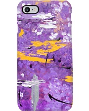 Purple Abstract Phone Case tile