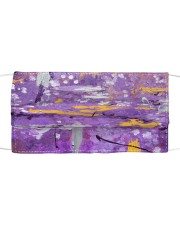 Purple Abstract Mask tile