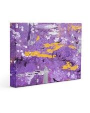 Purple Abstract Gallery Wrapped Canvas Prints tile