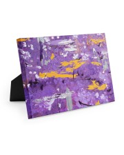 Purple Abstract Easel-Back Gallery Wrapped Canvas tile