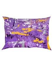 Purple Abstract Rectangular Pillowcase tile
