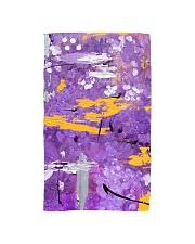 Purple Abstract Hand Towel tile