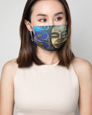 Peaceful 3 Layers Mask 3 Layer Face Mask - Single aos-face-mask-3-layers-lifestyle-front-01