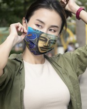 Peaceful 3 Layers Mask 3 Layer Face Mask - Single aos-face-mask-3-layers-lifestyle-front-10
