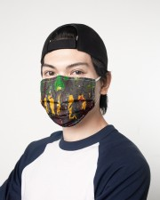 Abstract Forest 3 Layers Mask 3 Layer Face Mask - Single aos-face-mask-3-layers-lifestyle-front-07