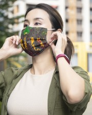 Abstract Forest 3 Layers Mask 3 Layer Face Mask - Single aos-face-mask-3-layers-lifestyle-front-11