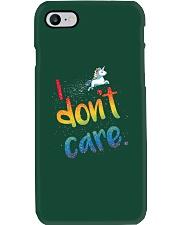 I Don't Care Phone Case thumbnail