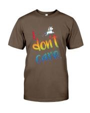I Don't Care Classic T-Shirt thumbnail
