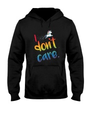 I Don't Care Hooded Sweatshirt thumbnail