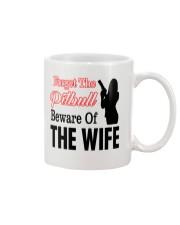 Forget The Pitbull Beware Of The Wife Mug thumbnail