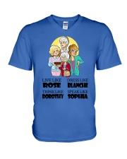 Stay Golden V-Neck T-Shirt thumbnail