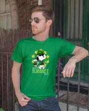 Happy St Patrick's Day Classic T-Shirt lifestyle-mens-crewneck-front-2