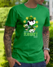 Happy St Patrick's Day Classic T-Shirt lifestyle-mens-crewneck-front-7