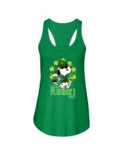 Happy St Patrick's Day Ladies Flowy Tank front